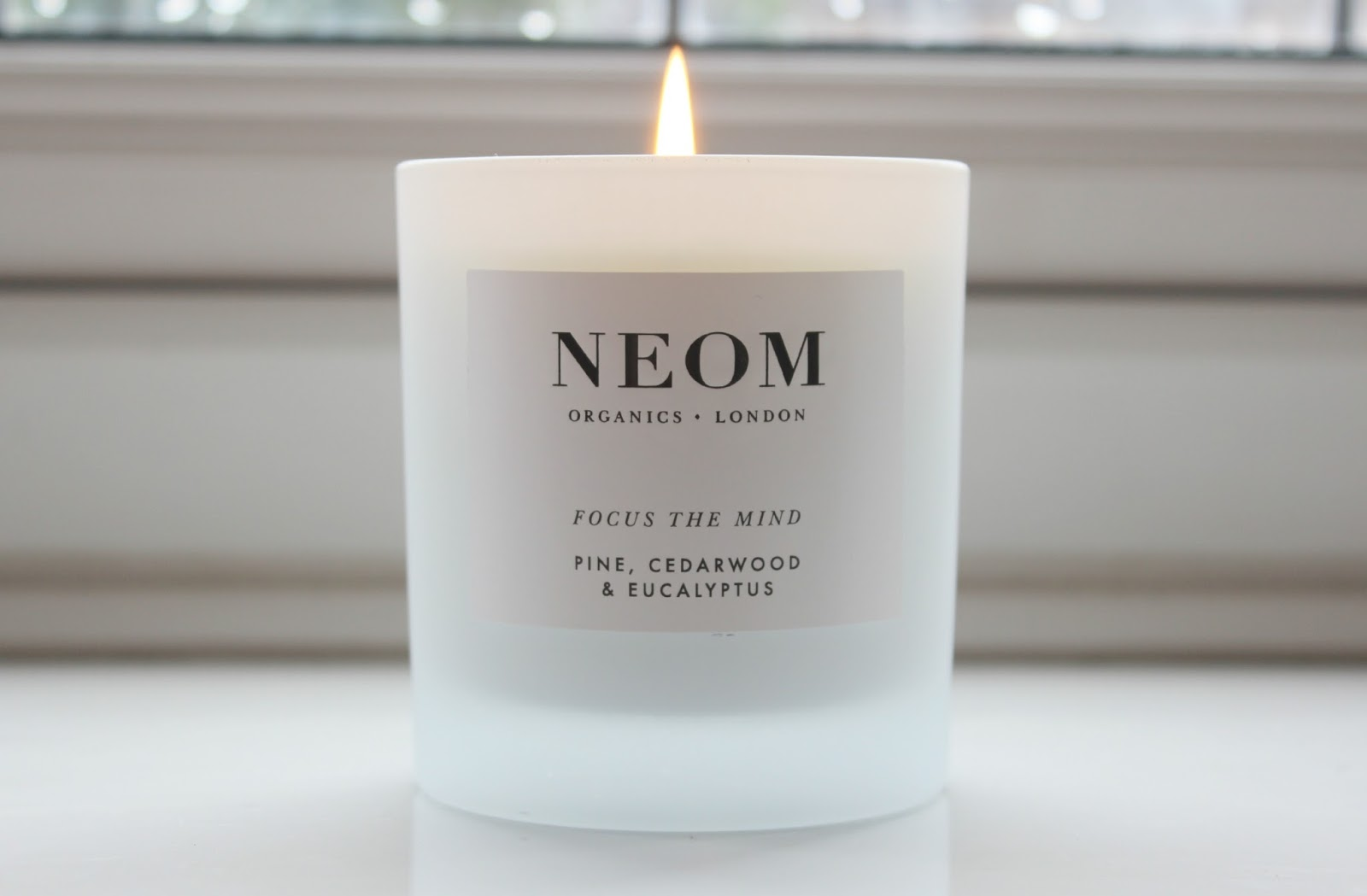 A picture of the NEOM Focus the Mind home candle