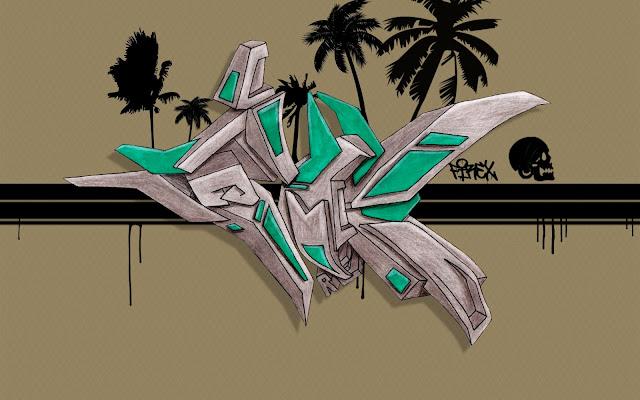 Sorprendentes Graffitis en 3D