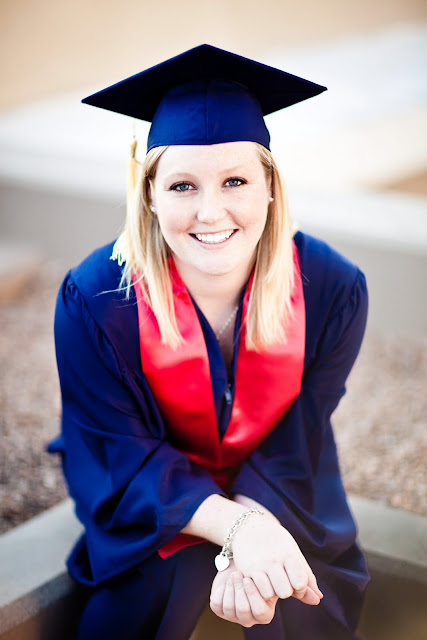 University of Arizona Graduation Portrait=