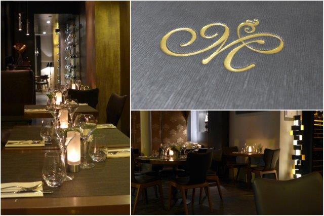 Comedor y carta del Restaurante Le Marcab en Paris