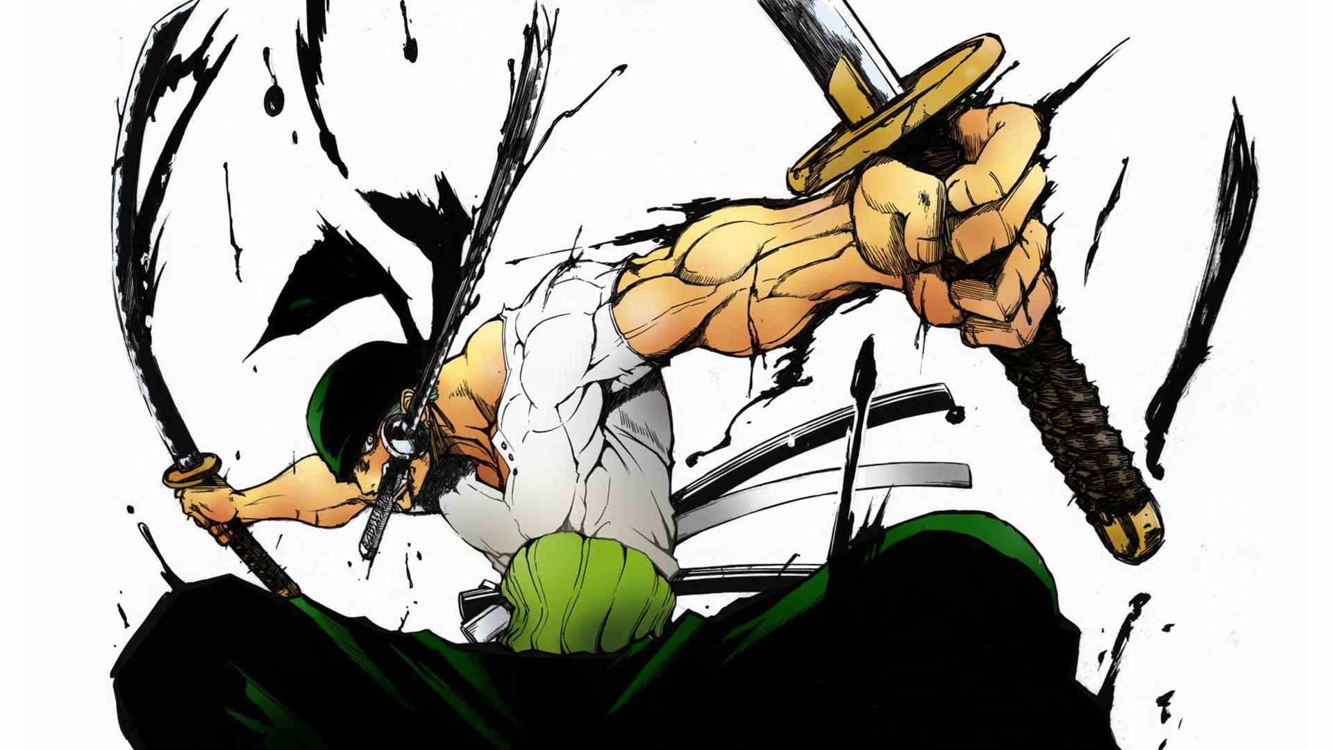 roronoa zoro 3 sword style 2u wallpaper hd