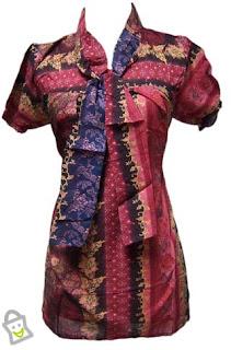 Batik Kerja Wanita