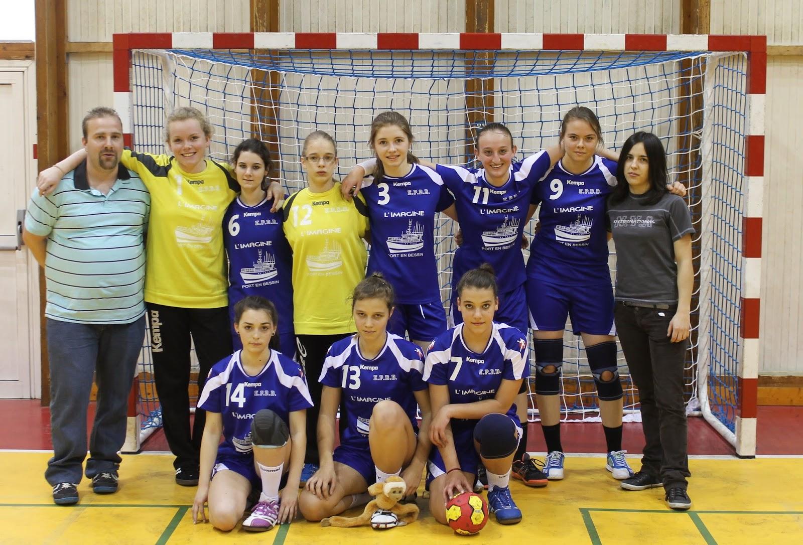 Entente port bayeux bessin handball 16 f minines for Intersport cherbourg