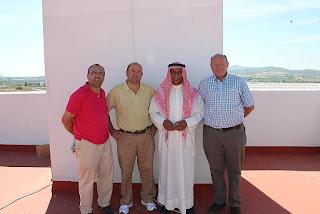 Rafael Ruz, Joaquin Ruz, Jassim AL Kulaib and Jose Ruz