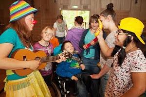 Viel Freude an gemeinsamer Musik egal wie jung, wie alt oder mit Besonderheit