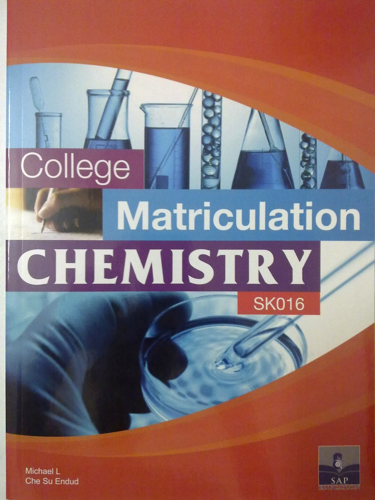 lookchemistry college matriculation chemistry sk016 this book contains simple clear and concise explanations plus comprehensive problem exercises at the end of each