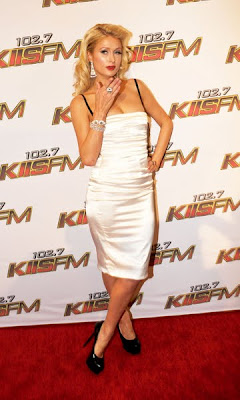 Paris Hilton Radiant at the KIIS FM