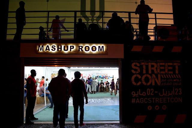 StreetCon Dubai 2015 at Al Ghurair Center