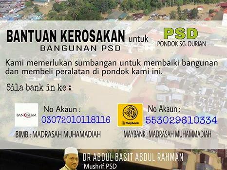 Bersama warga PSD untuk membaik pulih dan membangun kembali mana yang patut!
