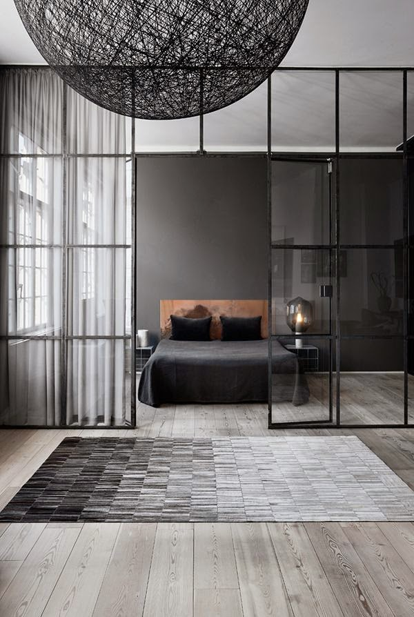 la fabrique d co peindre la chambre en noir ou en gris. Black Bedroom Furniture Sets. Home Design Ideas