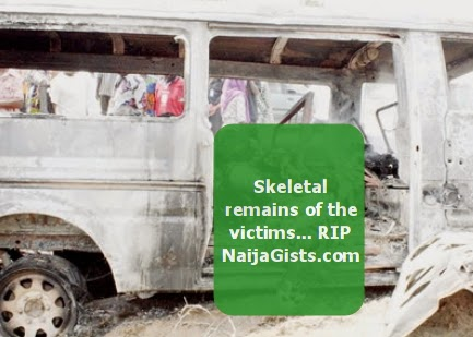 bus passengers burnt alive lagos ibadan