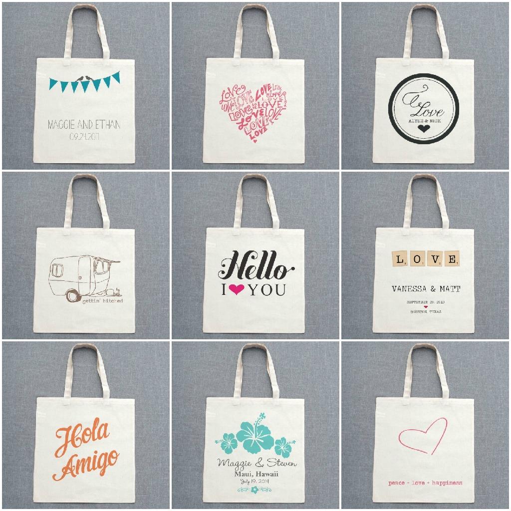 Ideas de la boda bolsa de regalo