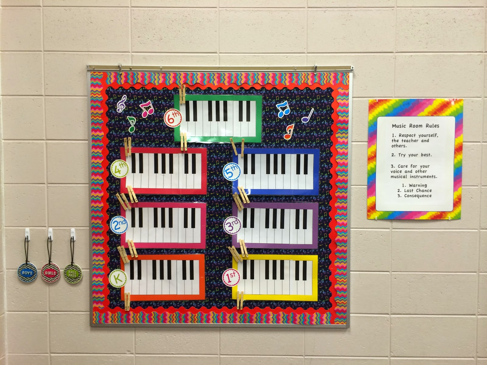 Music Classroom Wall Decorations ~ The journey of an elementary music teacher happy new year