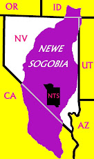 The NNSS is on the land of the Western Shoshone: Newe Sogobia