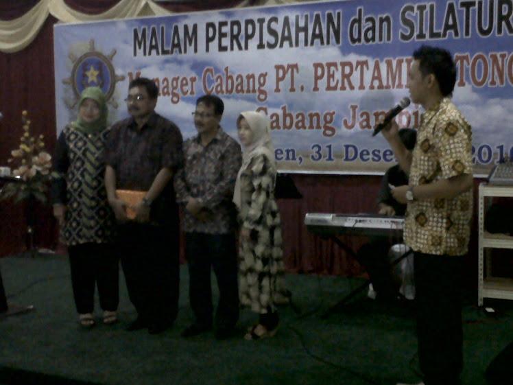 PT. PERTAMINA TONGKANG  pisah sambut dan semarak tahun baru 2011