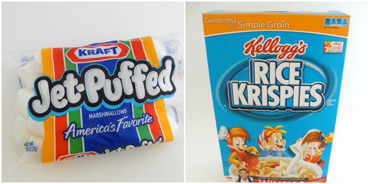 how to make rice crispy treats with jet puff