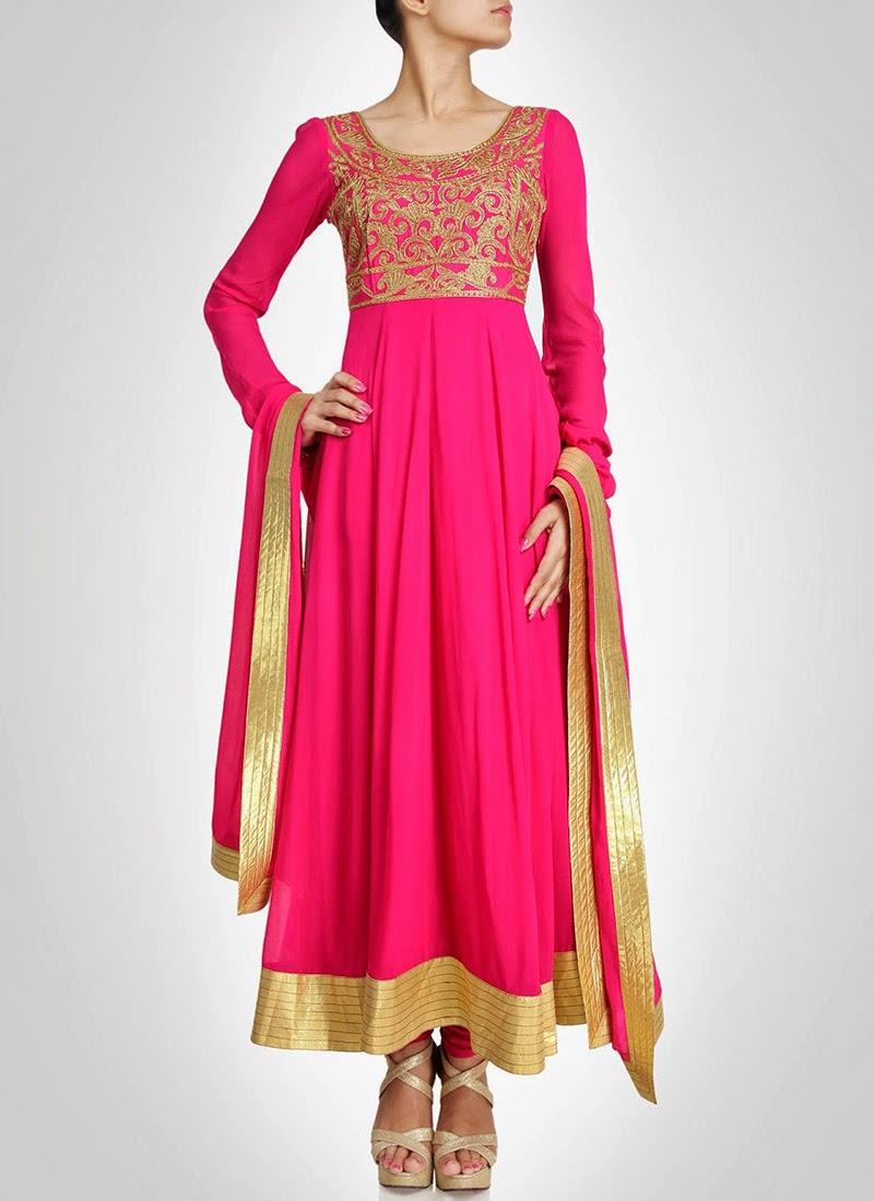 NewDesignsofLongAnarkaliSuitsCollection2014281129 - New Designs of Long Anarkali Suits Collection 2014