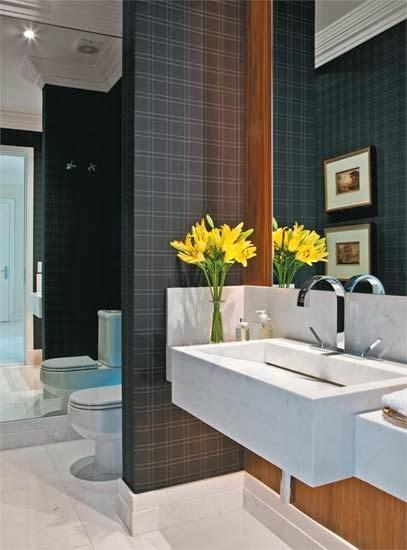 decorar lavabos redondos:Lavabos Decorados – veja dicas e mais de 50 modelos maravilhosos