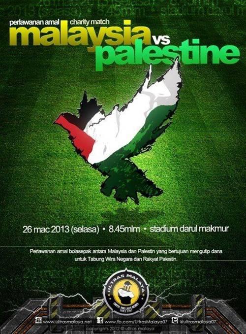 Live Streaming Malaysia VS Palestine 26 March 2013 | Astro Arena 801