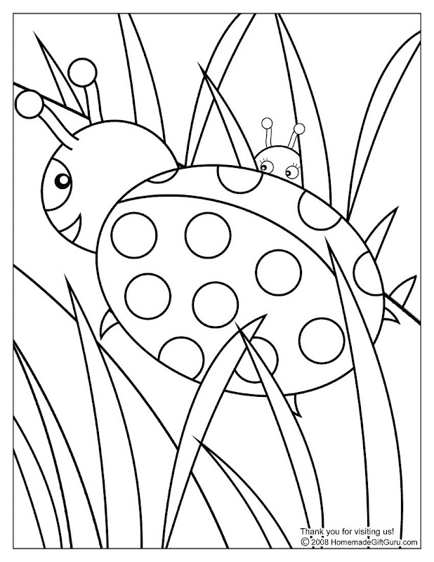 Ladybug Coloring Pages title=