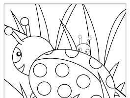 Design Animal Letter Coloring Page