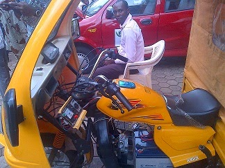 covenant university students tricycles