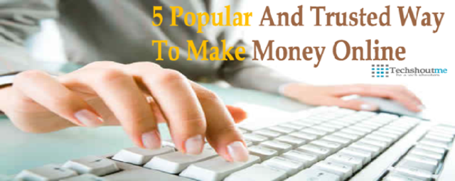 5 way to make money online