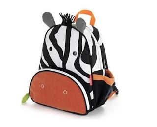 tas berbentuk zebra