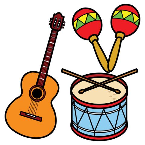 Trabajando en educaci n infantil 10 instrumentos musicales para hacer con ni os as con material - Instrumentos musicales leganes ...