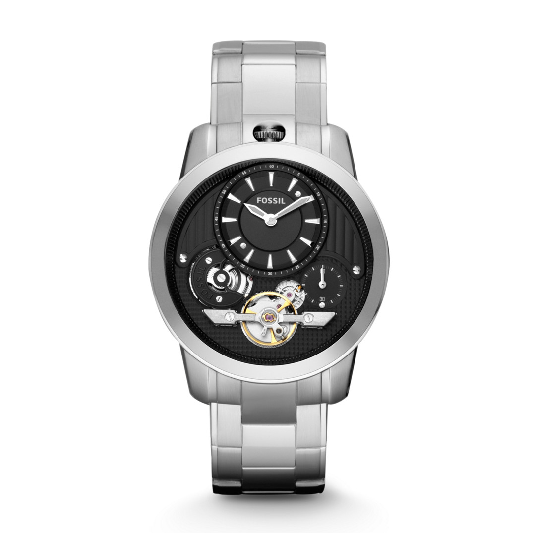 Original Fossil Watches By Geniehour June 2013 Jam Tangan Jr1354 Nate Chronograph Black Leather Mens Me1130 Grant Twist Stainless Steel Watch