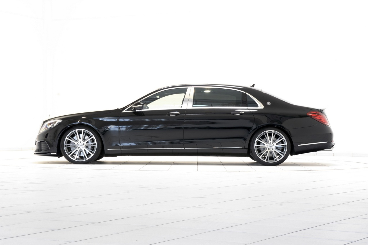 Mercedes maybach w222 s600 by brabus benztuning for Mercedes benz slk brabus price