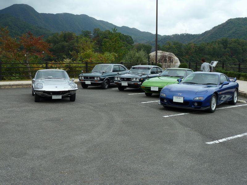 Mazda Cosmo Sport, Capella, Savanna, RX-7, japońskie samochody, motoryzacja, kultowe, auta z duszą, napęd na tył, wankel, rotary, silnik z wirującym tłokiem, klasyki, stare samochody, sportowe, coupe