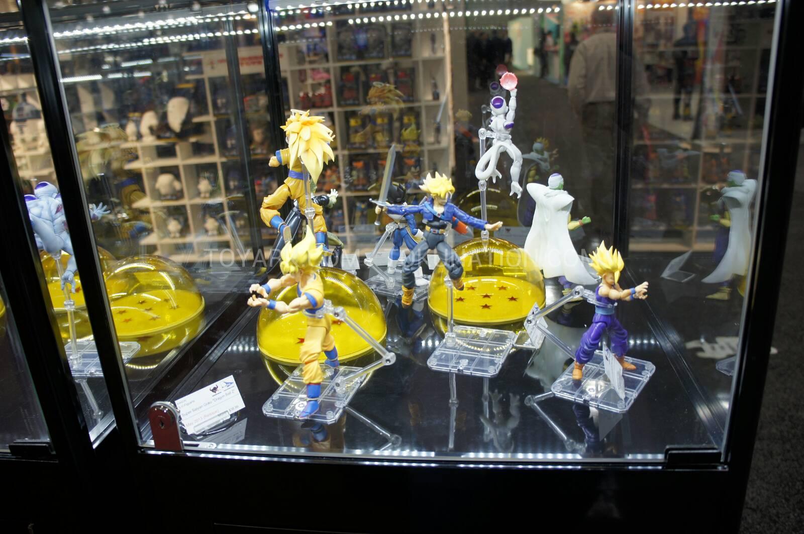Dragon Ball Toys : Welovetoys toy fair news dragon ball figures display