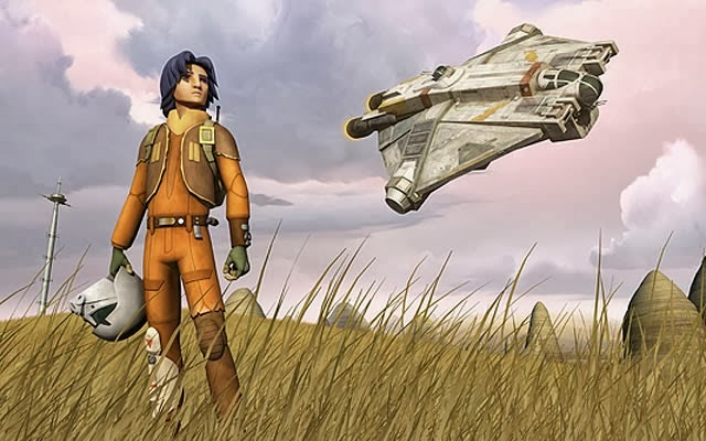 Promo pic of Ezra from the upcoming Rebels TV show