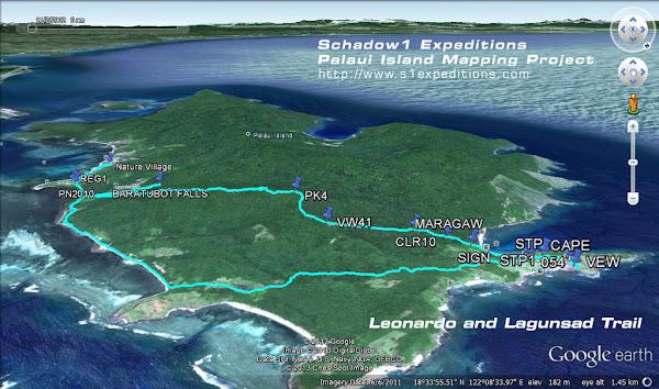 Palaui Island Pictures Palaui Island Trails to Cape