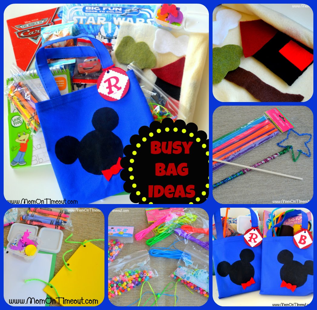 Busy bag activities for the little ones mom on timeout for Wand making kit