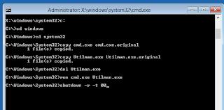 Cara Mereset Password Windows 8