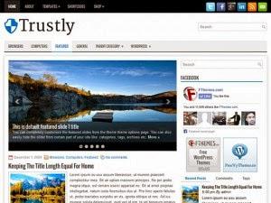 Trustly - Free Wordpress Theme