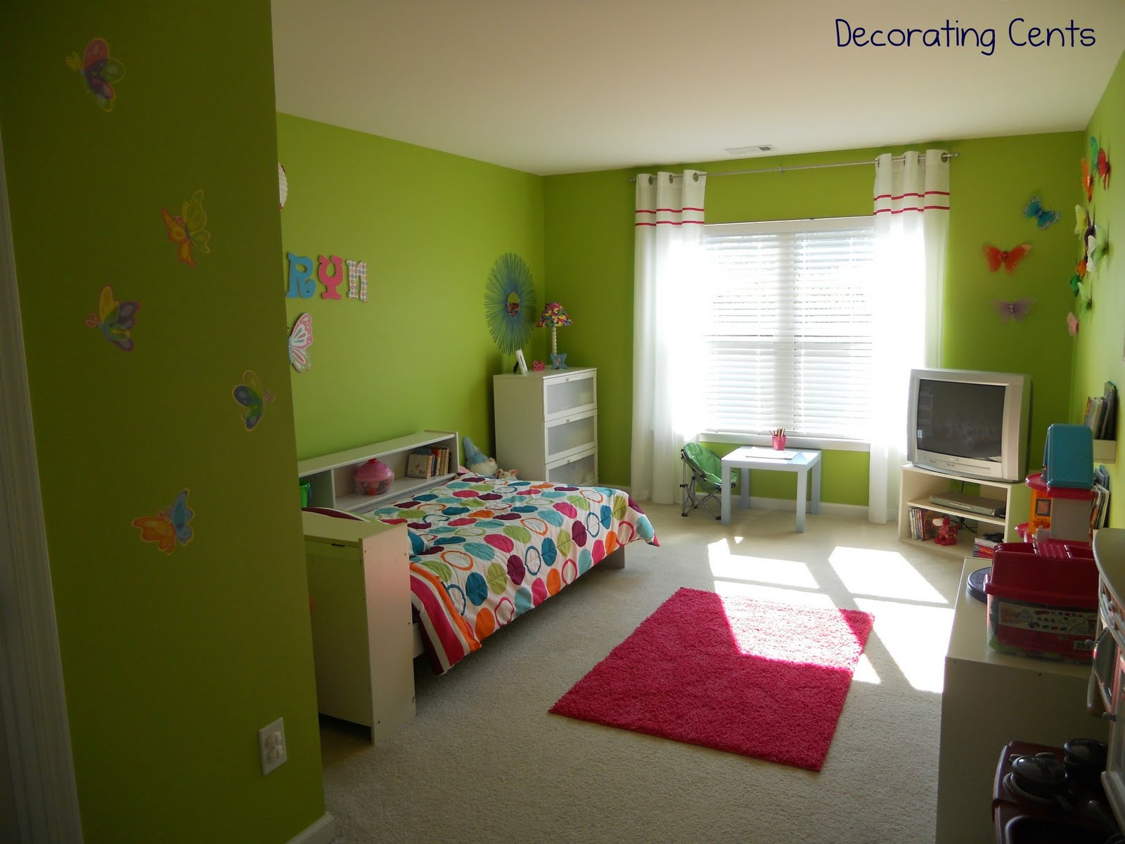 Bright And Fun Little Girls Bedroom Update With Ideas For Little Girl  Bedrooms