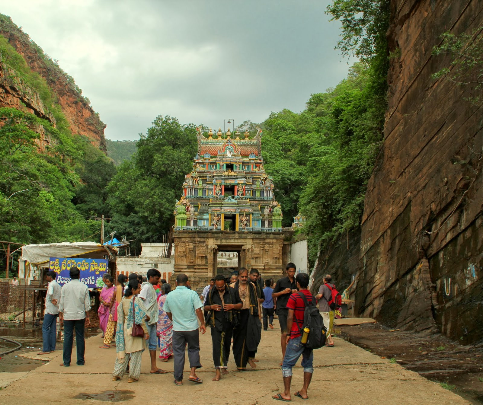 Ahobila Ugra Narasimha Swamy temple(Main Temple)