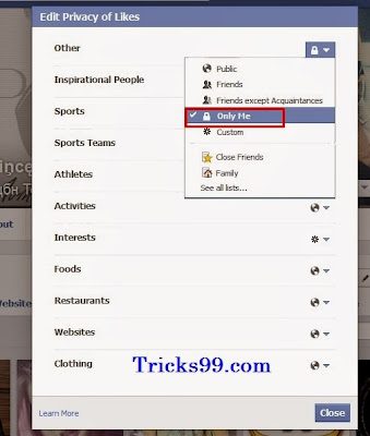 How to Hide pages Which You LIKE on Facebook ? (or)  How To Hide All Liked Pages on Facebook ?