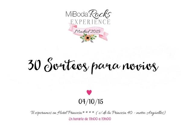 Sorteos Mi Boda Rocks Experience Madrid - 4 octubre