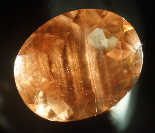 2 carat oregon sunstone