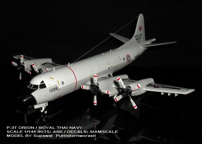 "1/144 P-3T  ""ORION"" ROYALTHAI NAVY"