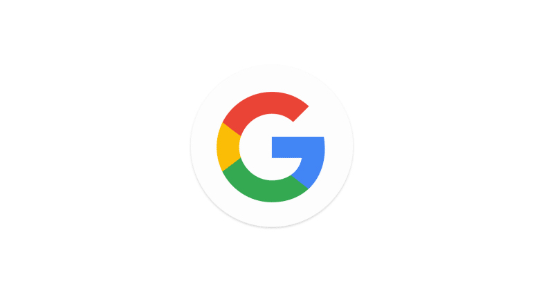 Google's new logo as of 2015