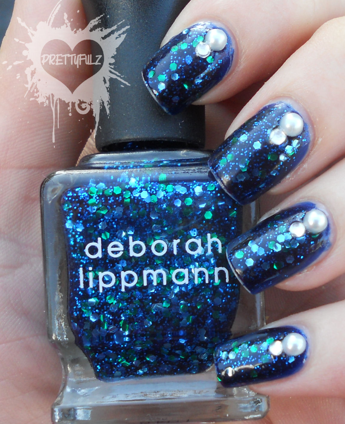 Prettyfulz Fall Nail Art Design 2011: Prettyfulz: Deborah Lippmann Across The Universe Swatch