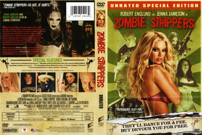 Zombie Strippers – Latino – DVD9