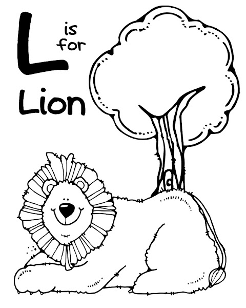 Black And White Zoo Animals Coloring Pages