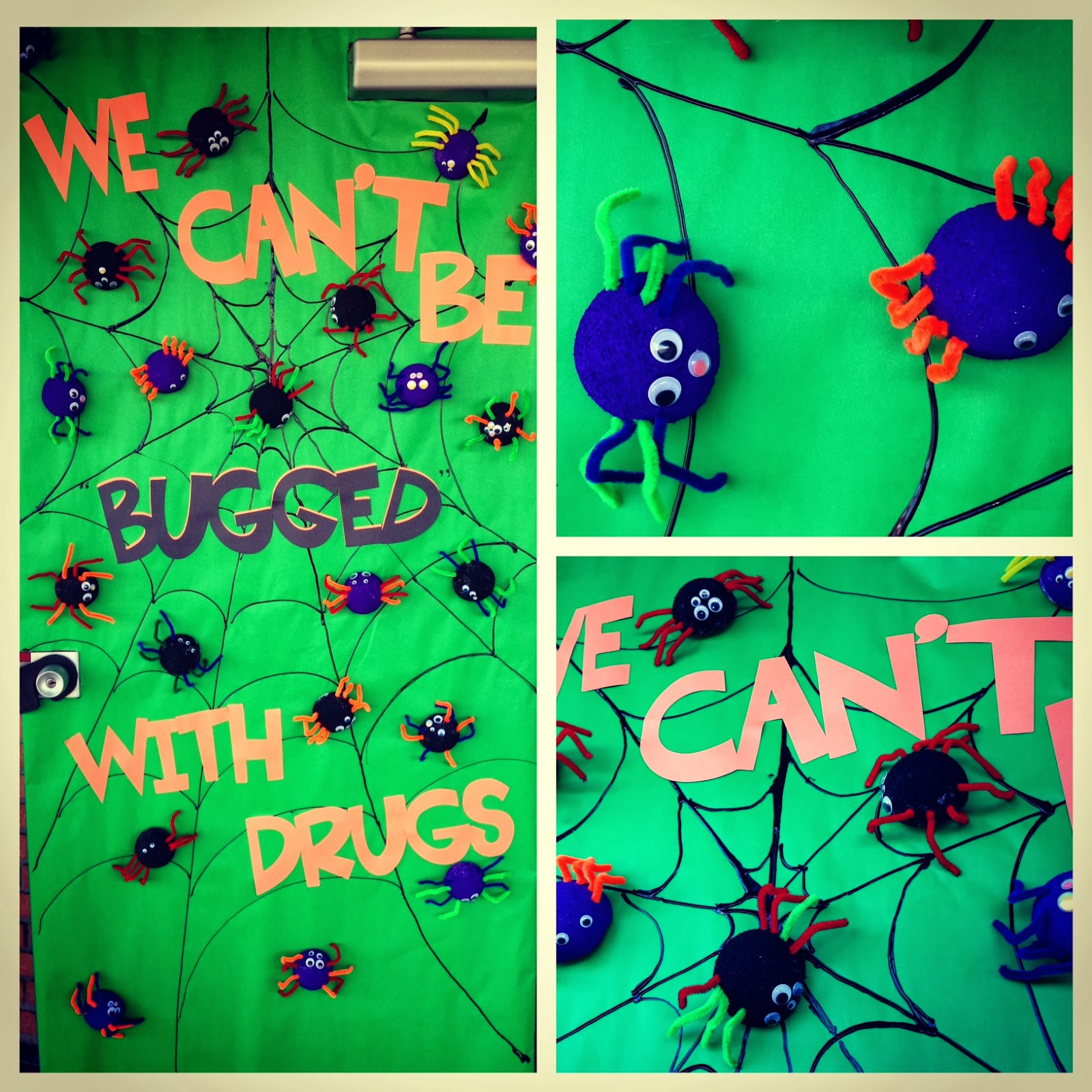 October 2013 apples and abcs we celebrated red ribbon week at our school this past week i love this spider door decorated by my neighbor i will share mine this weekend vtopaller Choice Image
