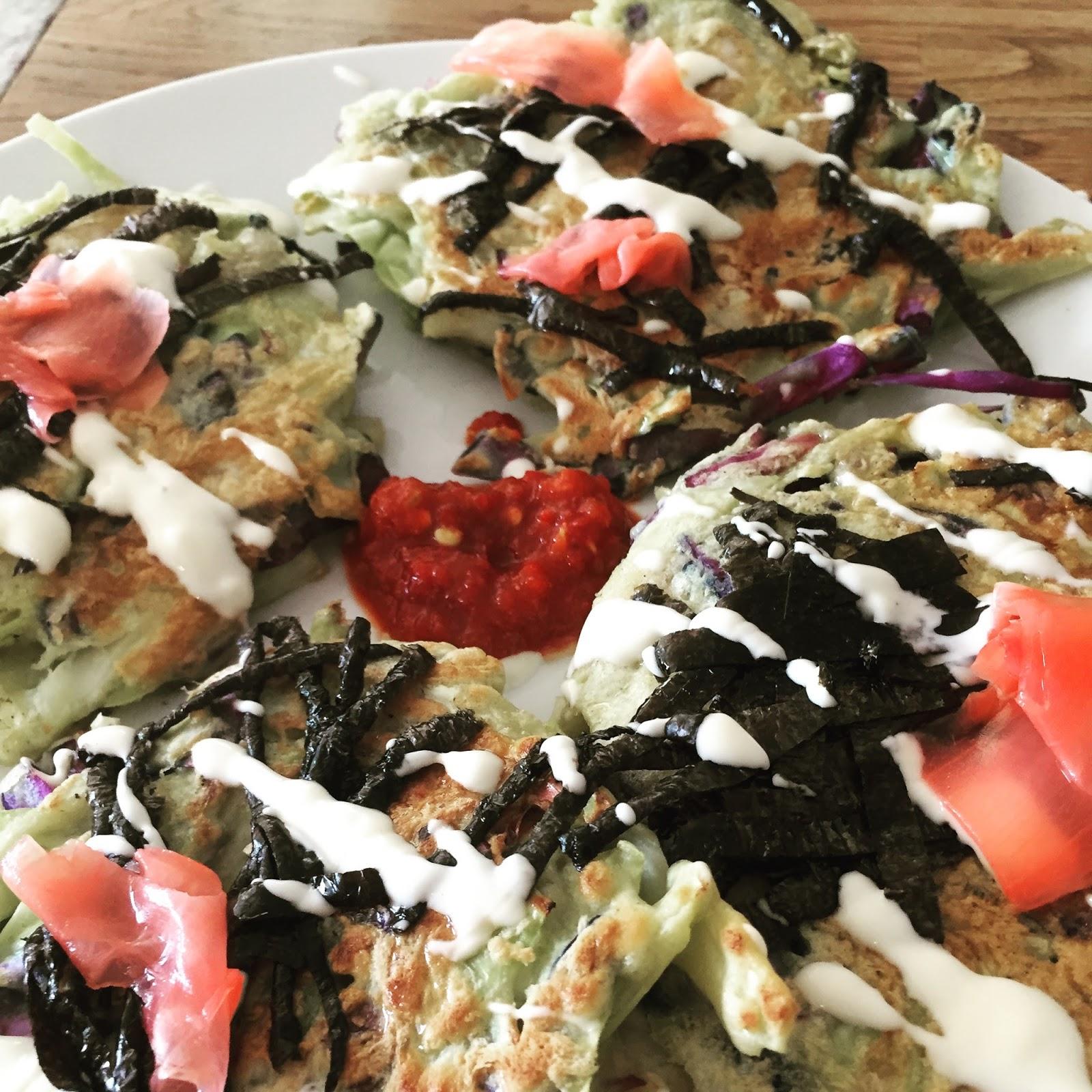 Here and There: Okonomiyaki, Japanese Pizza